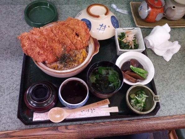 かつ玉丼 1200円・きむら亭(富岡市)
